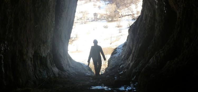 Януарски проучвания в пещерите около с. Гинци.