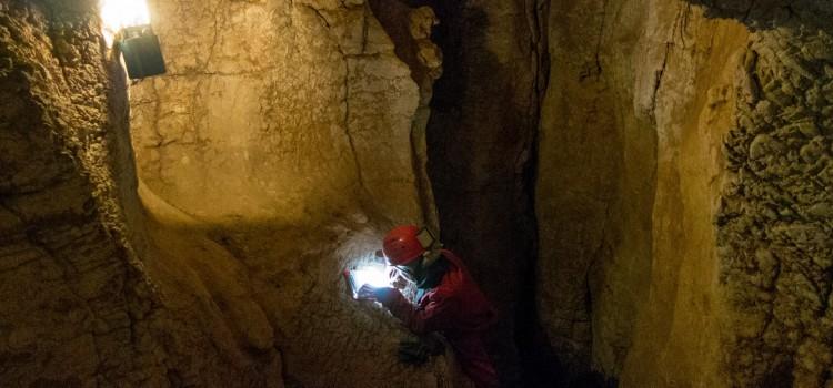 Картиране на пещери